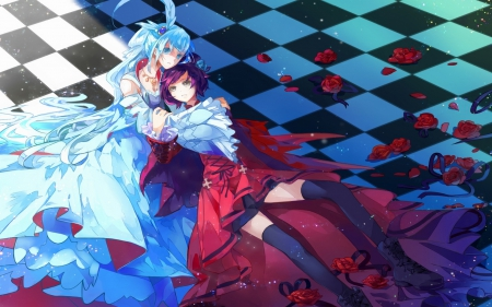 Ruby Rose Weiss Schnee Other Anime Background Wallpapers On