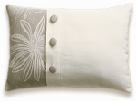 Accent Pillow With Buttons