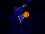 Cheers to the beautiful blue of night and the moonlight...
