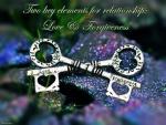 for relationships...