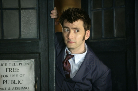 10th Doctor - TARDIS, BBC, 10th Doctor, Doctor Who, The Doctor