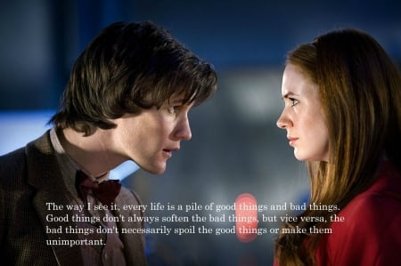 The Doctor and Amy Pond - Amy Pond, BBC, Doctor Who, The Doctor