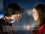 The Doctor and Amy Pond
