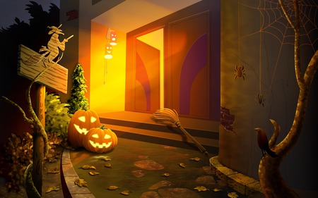 Come And See - trick o treating, halloween, pumpkins