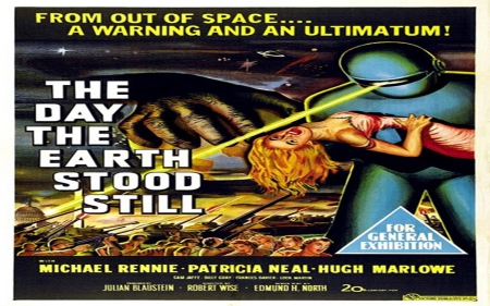 The Day The Earth Stood Still - posters, hollywood, sci fi, films, movies, cult films, classic