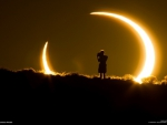 Incredible Picture of a Solar Eclipse