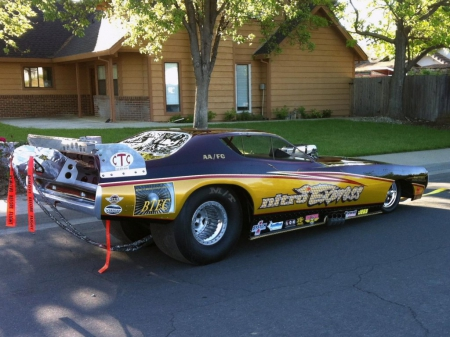 Late For Work - funnycar, hot rod, nhra, car