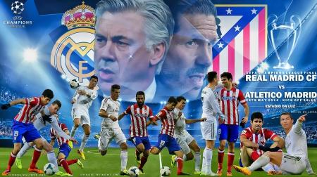64058086b REAL MADRID - ATLETICO MADRID CHAMPIONS LEAGUE FINAL 2014 - Football ...