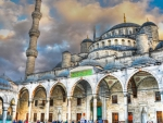 beautiful mosque hdr