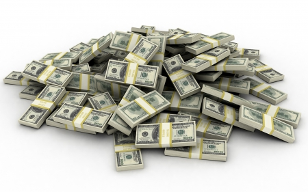 big stack of money for additional trading strategies