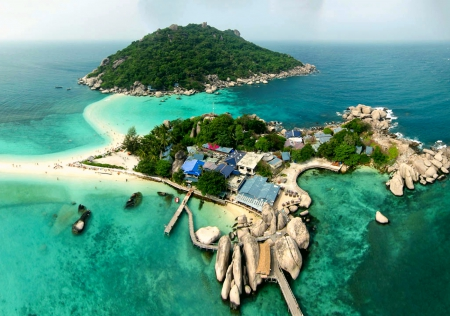 Koh nang yuan island dive resort beaches nature background wallpapers on desktop nexus - Nangyuan island dive resort ...