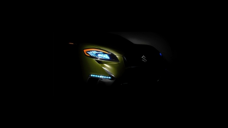 2013 Suzuki S Cross Concept - 2013, cars, concept, vehicles, front view, shadow, suzuki, Suzuki S Cross Concept