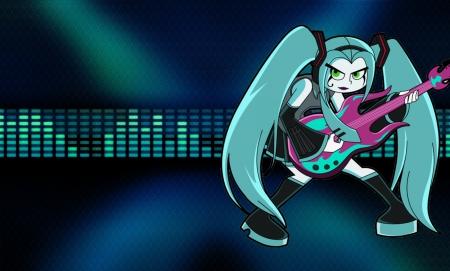 Vocaloid Ember Wallpaper Tv Series Entertainment