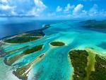 Bora Bora, Aerial View