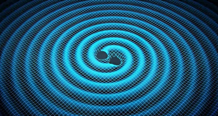 merging black holes - gravity, ripples, time, space