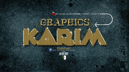 Gold Text Effect_Photoshop-Cc_By-KarimGFX - ELENA, LENA, KARIM, MIRAK