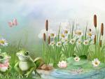 Frog Sweethearts