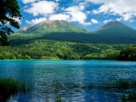 * Blue and beautiful lake *