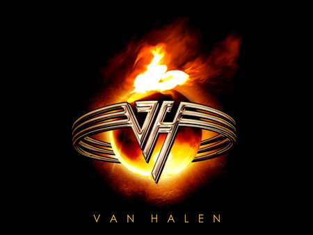 Van Halen Logo - rock band, logo, music, entertainment, van halen, album