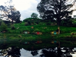 Hobbiton reflections