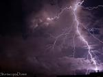 Stunning storm