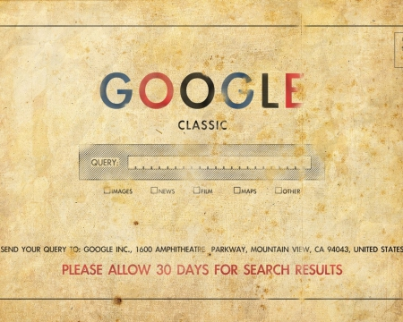Google Page - google, funny, front page, old
