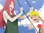 Kushina and Naruto :)