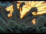 Kyuubi vs Hashirama's Wooden Dragon