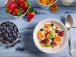 * Healthy breakfast *