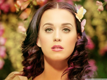 Katy Perry - brunettes, singers, celebrity, people, Katy Perry, singer