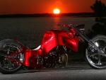 MOTORCYCLE RED STORM