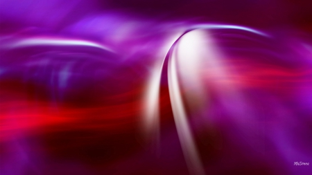 Brush of Colors - brushes, purple, streaks, magenta, read, abstract, light
