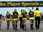 Grid Girls John Player Specials Silverstone