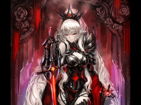 Black Queen Other Anime Background Wallpapers On Desktop Nexus Image 1755678