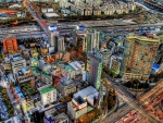 superb cityscape of seoul south korea hdr