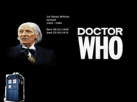 William Hartnell - doctor, tardis, who, 1966