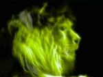 Green lion fractal