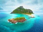 Monuriki Island, Castaway Island, Fiji