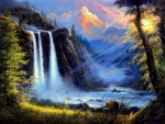 ★Waterfall of the Mysterious★
