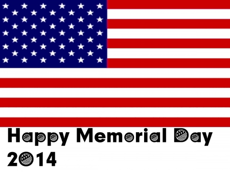 Happy Memorial Day 2014 - American, holiday, for DN members, happy
