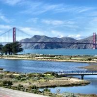 Golden Gate Suspension Bridge 1