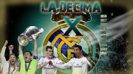 la decima - la decima, iker casillas, real madrid decima, bale, real madrid, champions league, ronaldo, garreth bale