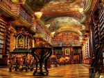 magnificent library hdr