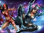 Elektra VS Catwoman