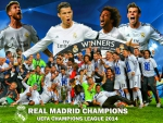 Real Madrid Winners Champions League 2014