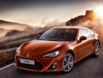 TOYOTA GT 86 RED COLOUR