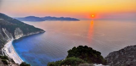 Sunset At Kefalonia Island