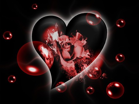 I Love You 3d And Cg Abstract Background Wallpapers On Desktop