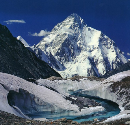 K2 2nd highest peak of the world (pakistan)