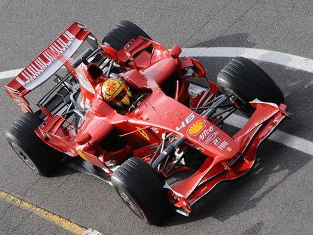 ROSSI F1 TEST - rossi, auto racing, f1, sports, motogp, ferrari